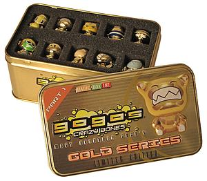 Gogo's Crazy Bones Series 1: Gold Series Tin (Limited Edition)