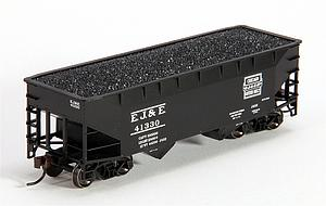 2-Bay Offset Hopper Car Flat End - Elgin Joliet & Eastern (20001492)