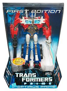 Transformers Prime Series Voyager Class Optimus Prime