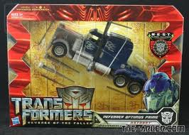 Transformers Revenge of the Fallen Series Voyager Class Defender Optimus Prime