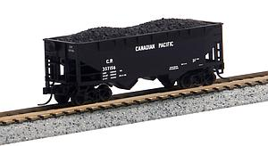 Offset Side 2-Bay Hopper - Canadian Pacific [Block Lettering] (50001181)