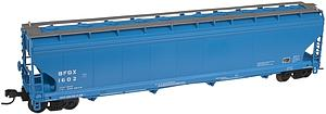 ACF 5800 Cubic Foot Plastics 4 Bay Covered Hopper - Goodrich [BFGX] (50001470)