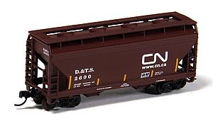 2-Bay Centerflow Hopper - Canadian National [DTS] (50001867)