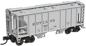 PS-2 2-Bay Covered Hopper- Rutland (50002122)
