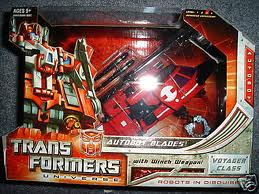 Transformers Universe Series Voyager Class Autobot Blades