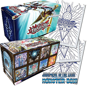 YuGiOh Trading Card Game Judgment of the Light Deluxe Edition: Monster Box