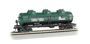 40' 3-Dome Tank Car - Chemcell (17143)