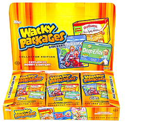 Topps Wacky Packages Series 11 Trading Card Stickers: Booster Box (24 Packs)