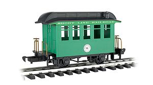 Coach Short Line Railroad - Green With Black Roof (97093)