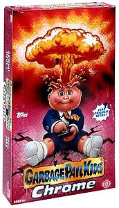 Garbage Pail Kids Chrome Trading Cards: Booster Box (24 Packs)
