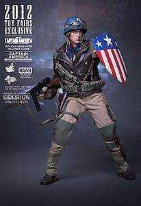 Marvel Captain America: The First Avenger (2011) 1/6 Scale Figure Captain America (Rescue Uniform)