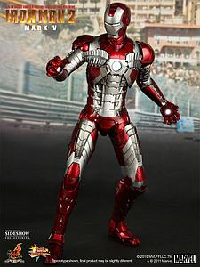 Marvel Iron Man 2 (2010) 1/6 Scale Figure Iron Man Mark V