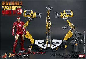 Marvel Iron Man 2 (2010) 1/6 Scale Figure Iron Man Mark IV (With Gantry)