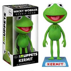 Wacky Wobblers The Muppets Bobbleheads: Kermit the Frog