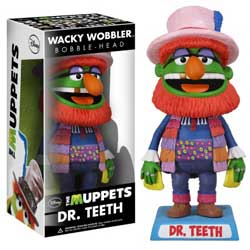 Wacky Wobblers The Muppets Bobbleheads: Dr. Teeth