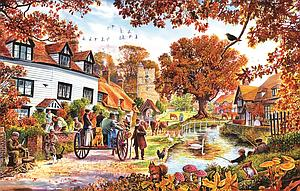 Village In Autumn (25971)