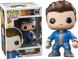 Pop! Television Supernatural Vinyl Figure Dean (Blood Splatter) #94 (Hot Topic Exclusive)