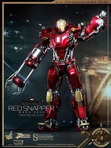 Iron Man Mark XXXV Red Snapper Power Pose (PPS002)