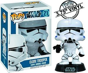 Pop! Star Wars Vinyl Bobble-Head Clone Trooper #21 (Vaulted)