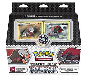 Pokemon Black & White Trainer Kit: Excadrill & Zoroark