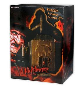 "A Nightmare on Elm Street 9"" Freddy Furnace Diorama"