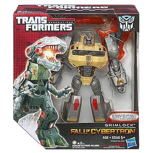 Transformers Generations Fall of Cybertron Voyager Class: Grimlock (Canadian Packaging)