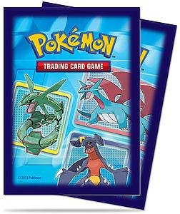 Pokemon Standard Size Deck Protectors 65 Count: Dragons