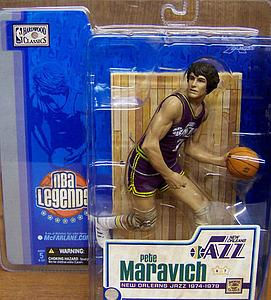 NBA Legends Series 1: Pete Maravich (New Orleans Jazz)