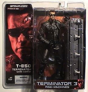 Terminator 3 Rise of the Machines: T-850 (Terminator w/ Coffin)