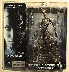 Terminator 3 Rise of the Machines: T-X (Endoskeleton)