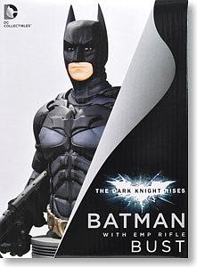 DC Collectibles The Dark Knight Rises Bust: Batman with EMP Rifle