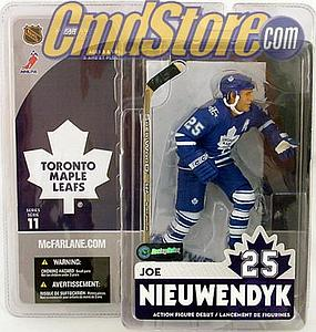 NHL Sportspicks Series 11 Joe Nieuwendyk (Toronto Maple Leafs) Blue Jersey Variant