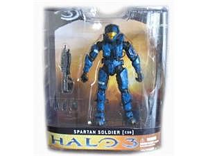 Halo 3 Series 1: Spartan Soldier CQB (Blue)