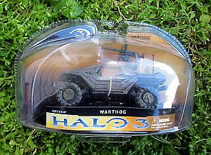 "Halo 3 Series 1 3"" Vehicle: Warthog"