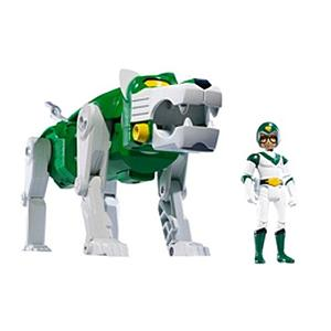 Mattel Voltron Lion Force Classics Exclusive Series: Green Lion & Pidge