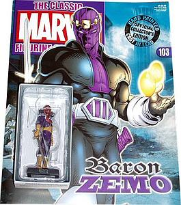 Classic Marvel Figurine Collection Issue #103: Baron Zemo