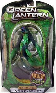 Mattel Movie Masters Green Lantern: Naut Kei Loi (Build Parallax Piece)