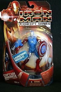 Marvel Iron Man Movie Concept Series: Captain America Armour