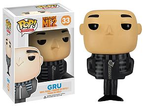 Pop! Movies Despicable Me Vinyl Figure Gru #33 (Vaulted)