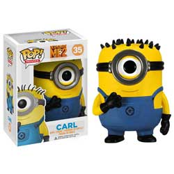 Pop! Movies Despicable Me Figure Vinyl Figure Carl #35 (Vaulted)
