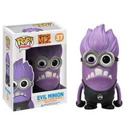 Pop! Movies Despicable Me Figure Vinyl Figure Evil Minion #37 (Vaulted)