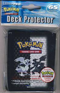 Deck Protectors Pokemon Black & White: 65 Standard Size Card Sleeves