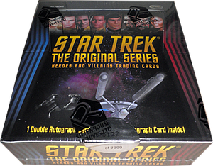 Rittenhouse Star Trek The Next Generation Heroes & Villains Trading Cards: Hobby Booster Box
