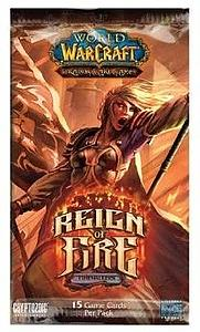 World of Warcraft Trading Card Game Reign of Fire: Booster Pack