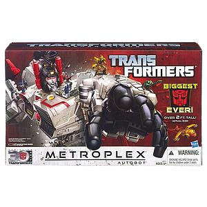 Transformers Generations Titan Class: Metroplex (gun is missing missile)
