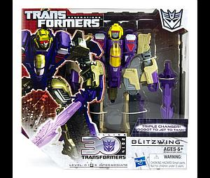 Transformers Generations Voyager Class: Blitzwing