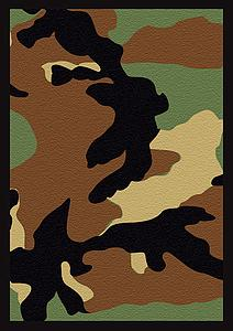 Camo Standard Card Sleeves (67mm x 92mm)