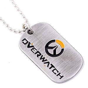 Overwatch Necklace Logo Dogtag