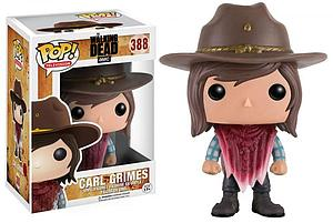 Pop! Television The Walking Dead Vinyl Figure Carl Grimes (Poncho) #388
