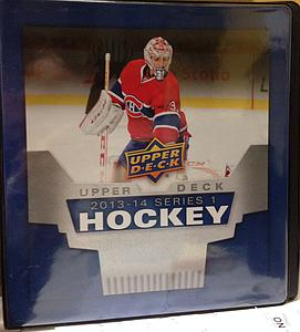 2013-14 NHL Upper Deck Series 1 Hockey Album